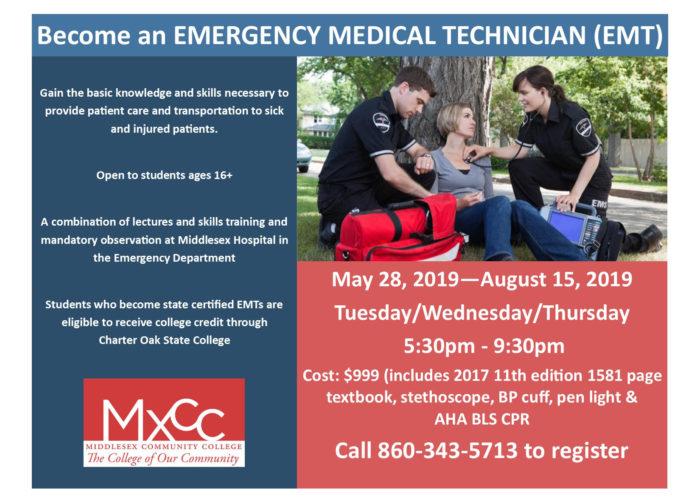 Connecticut EMT training classes