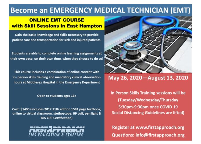 Summer Evening 2020 EMT Flyer Online - East Hampton