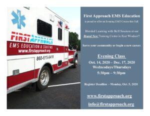 Connecticut EMT classes and EMS Education