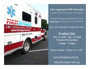 Emergency Medical Technician classes in Connecticut